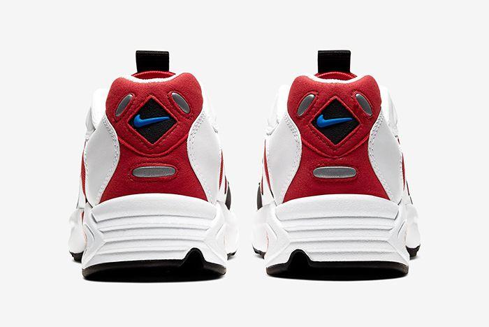 Nike Triax 2 White Red Heel