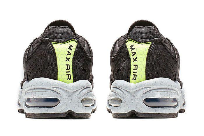 Nike Air Max Tailwind 4 Black Volt Heel