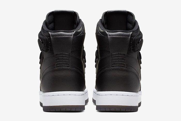 Air Jordan 1 Nova Xx Black Heel
