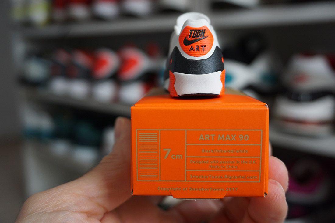 Sneaker Toons 3 D Art Max 90 Sneaker Freaker 3