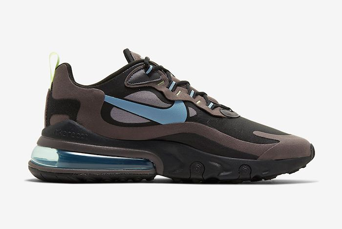 Nike Air Max 270 React Brown Right Side Shot