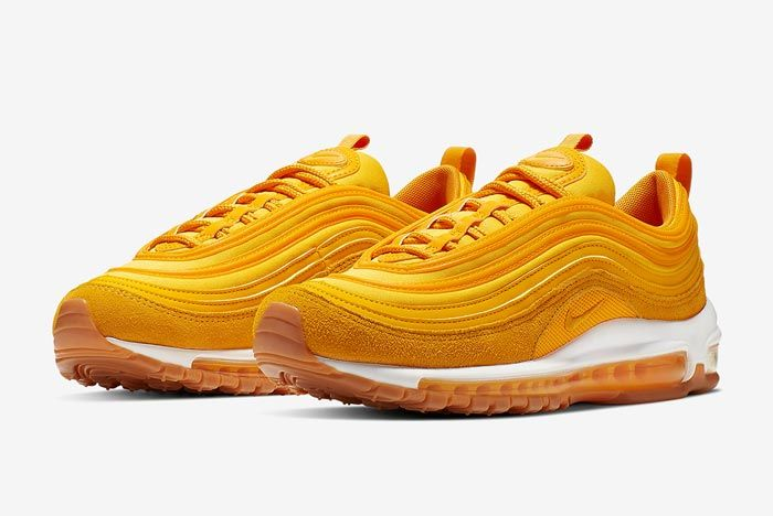 Nike Air Max 97 Womens Double Gold Pair