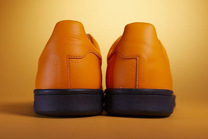 Fucking Awesome Adidas Skateboarding Stan Smith Orange Release Date Heel