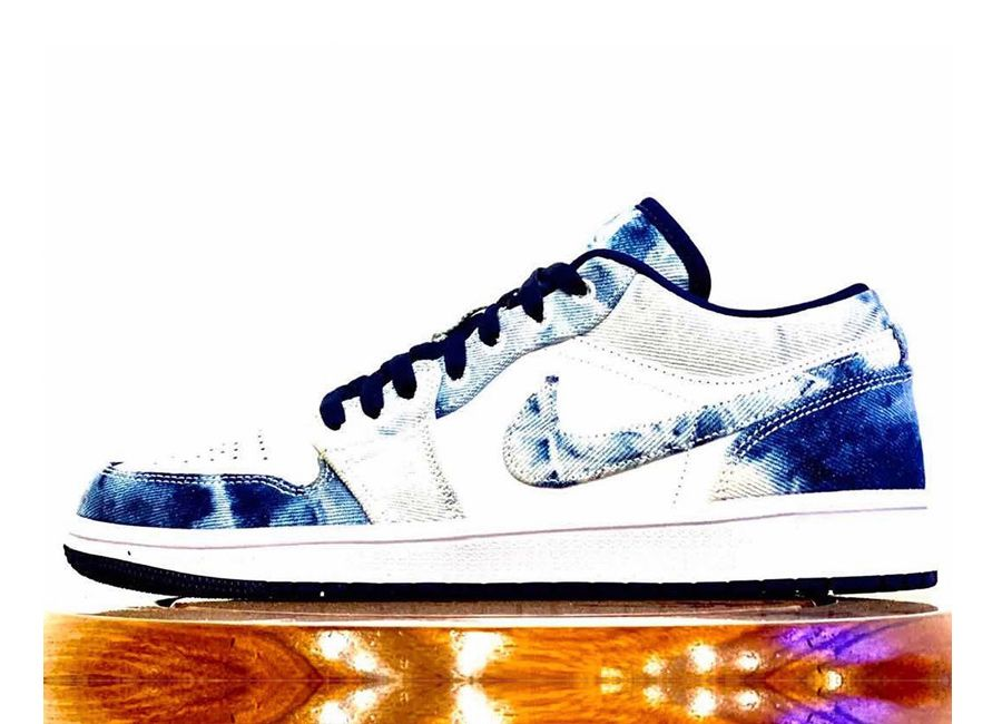 Air Jordan 1 Low 'Washed Denim'