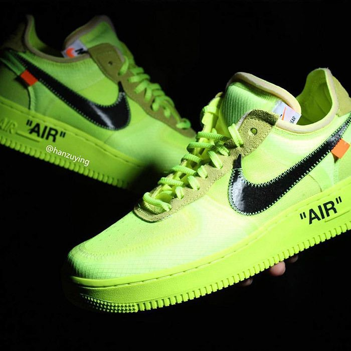 Off White Nike Air Force 1 Low Volt 11