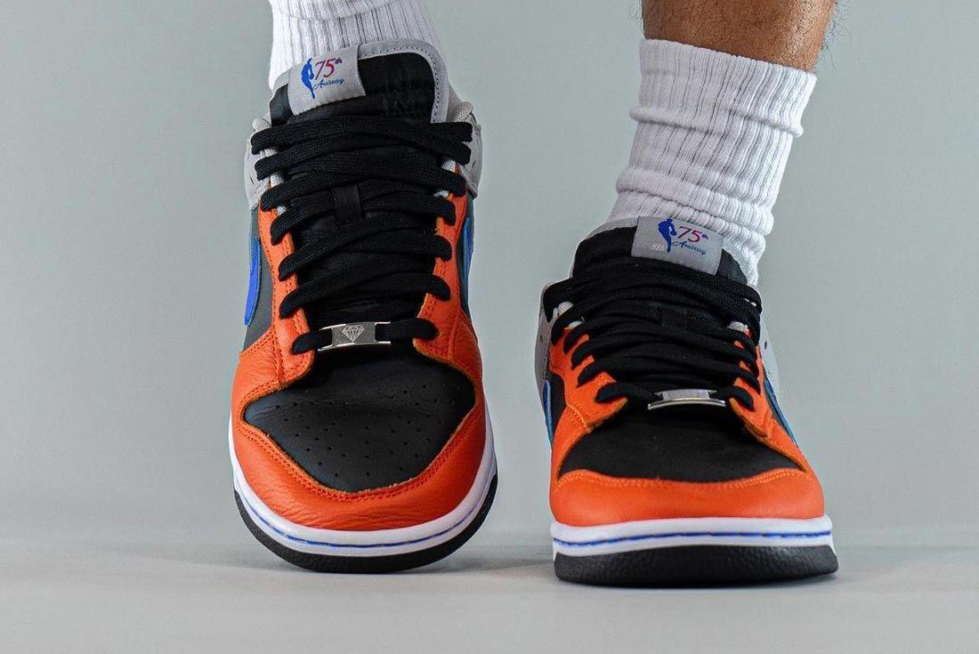 NBA x Nike Dunk Low EMB '75th Anniversary'