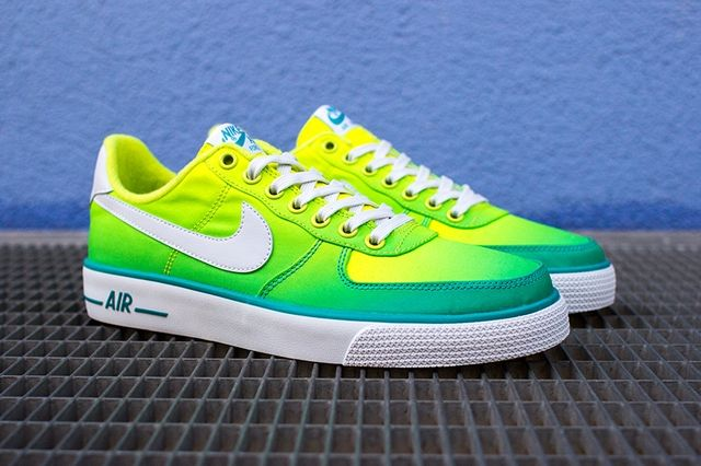 Nike Air Force 1 Ac Br Qs Green 2