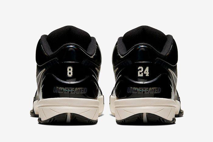 Nike Kobe 4 Protro Black Mamba Heel