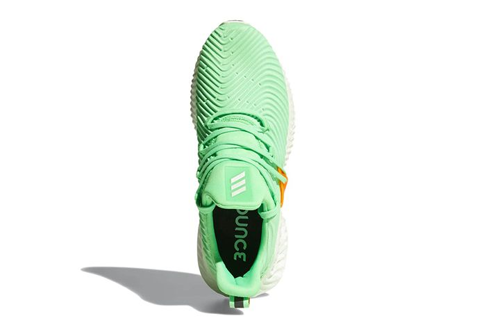 Adidas Alphabounce Instinct Grey Shock Lime Release Date 003 Sneaker Freaker
