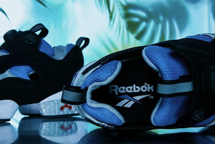 Reebok Instapump Fury Blue Grey Insole Shot 3