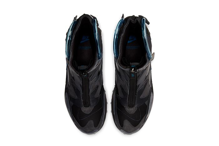 Undercover Nike React Boot Black Release Date Top Down