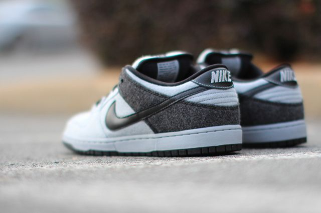 Nike Dunk Low Prm Sb Wolf Grey Wool 2