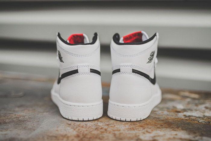 Nike Air Jordan 1 Retro High Og Bg White 2
