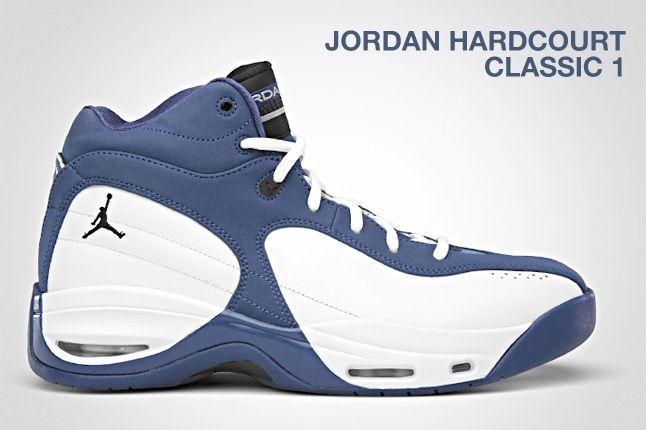 Jordan Hardcourt Classic 1 White Blue 1