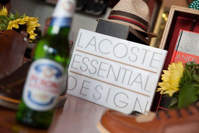 Lacoste X Beggar Man Thief 80 Years Exhibition Lacoste Essential Design Logo 1