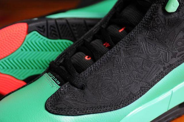 Air Jordan Dub Zero Black I Infrared 1