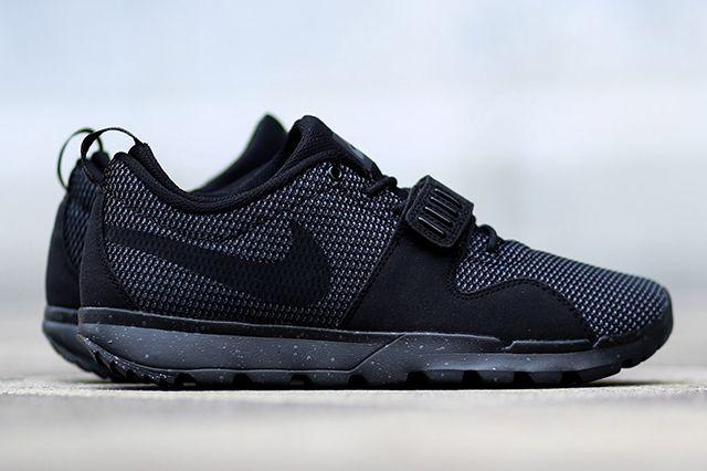 Nike Sb Trainerendor  Black Dark Grey 3