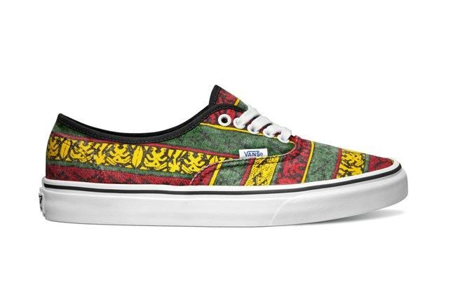 Vans Classics Authentic Van Doren Rasta Tribal Surf Fall 2013 1