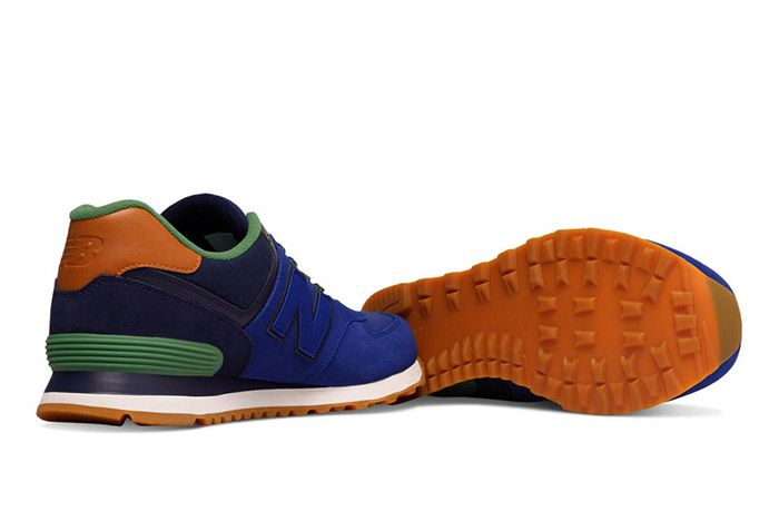 New Balance 574 Collegiate Pack Blue 2