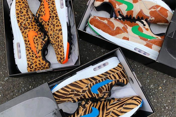 Atmos Nike Air Max 1 Animal Pack Top Shot