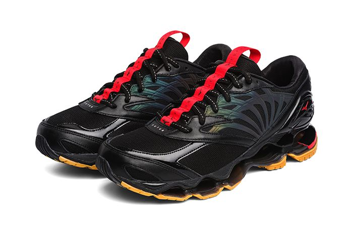 Futur Mizuno Wave Prophecy Black Release Date Pair