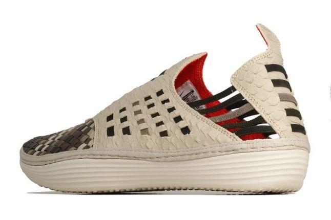 Nike Solarsoft Rache Woven Prm Classic Stone Heel Quarter 1