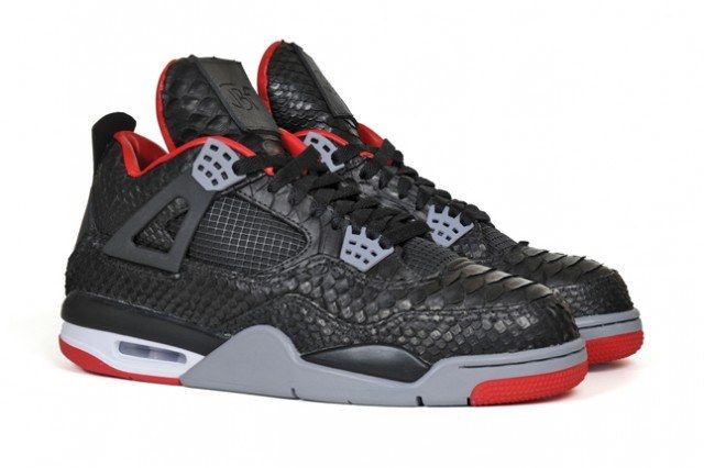 Jbf Customs Python Jordan Iv Side Pair 1 640X4261