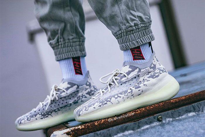 Adidas Yeezy Boost 380 Alien On Foot Left 5