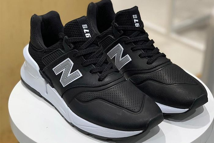 Comme Des Garcons Homme New Balance 997S Black First Look Shelf