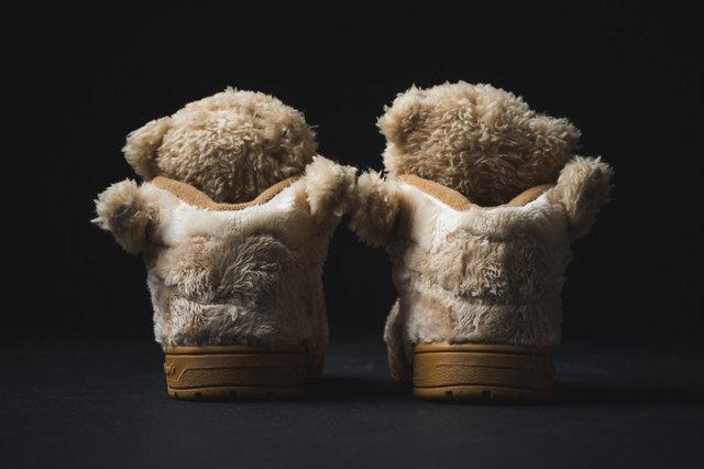 Adidas Infant Js Bear Tan 2