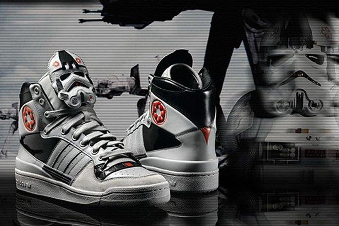 Adidas Star Wars White Stormtrooper Pair