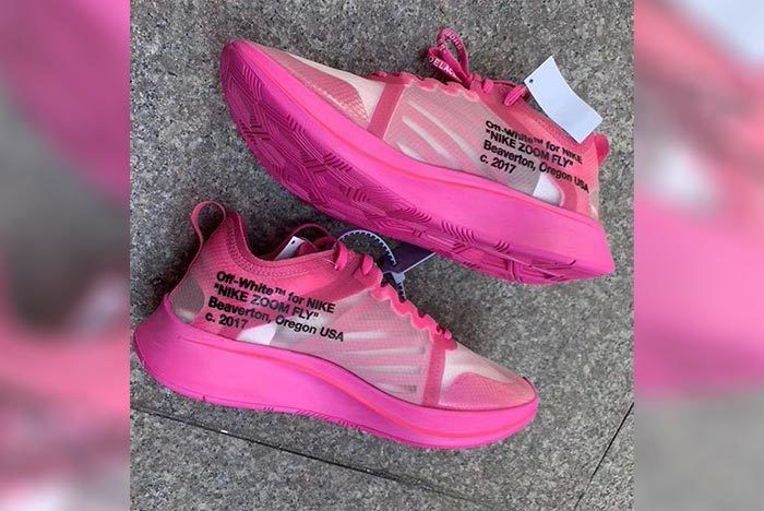 Off White Nike Zoom Fly Sp Tulip Pink 1