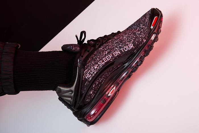 Skepta X Nike Air Max Delux On Foot 1