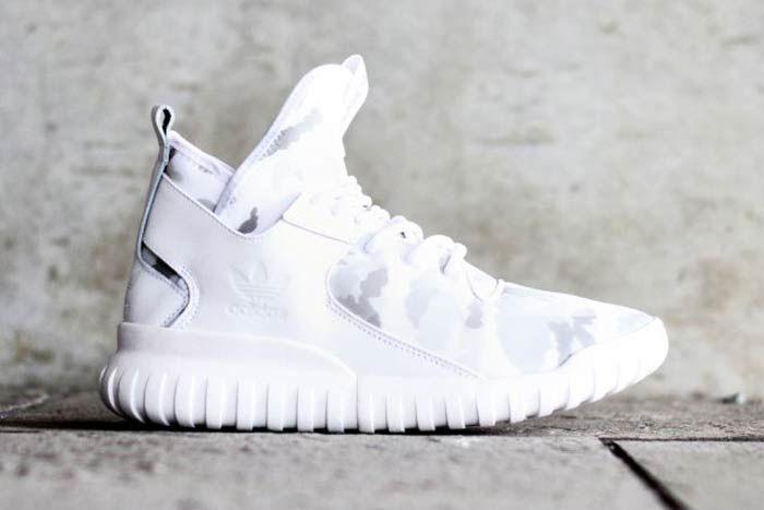 Adidas Tubular X White Camo