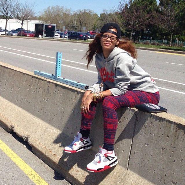 Rhiana Kicks 13