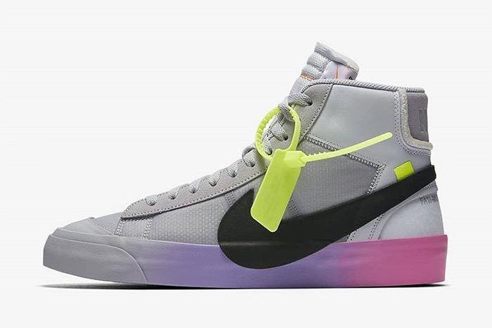 Off White Serena Nike Blazer 3