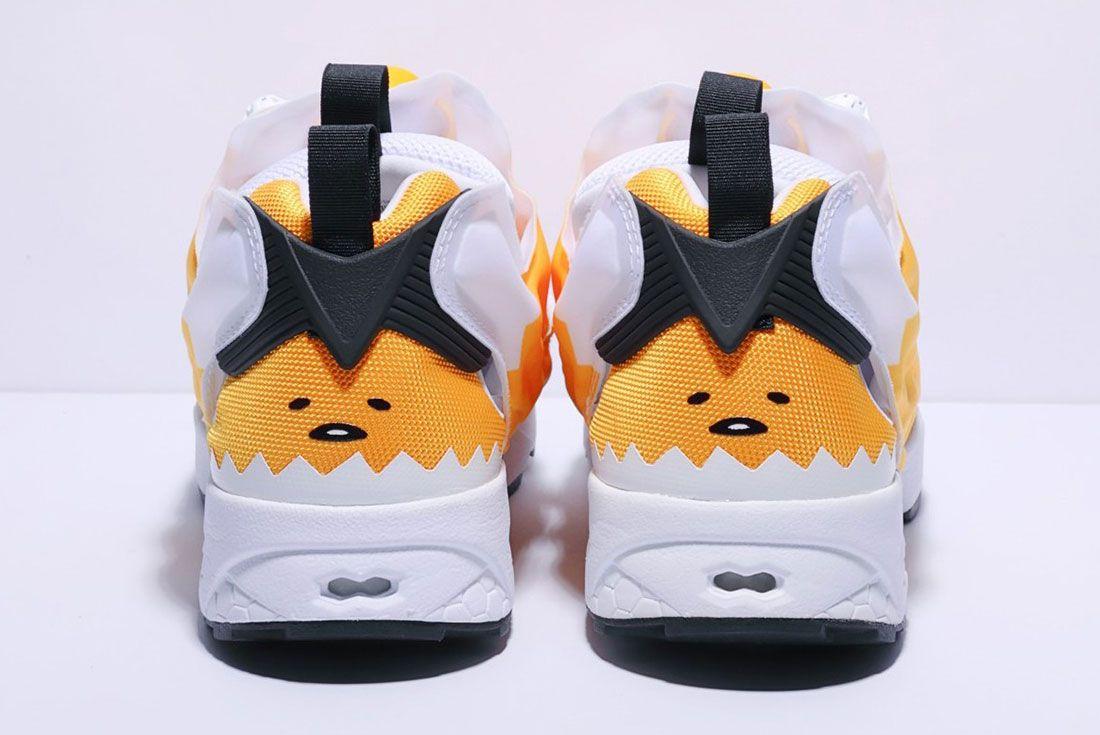 Reebok Instapump Fury Og Hello Kitty Gudetama Sanrio Where To Buy Japan 43 Heel