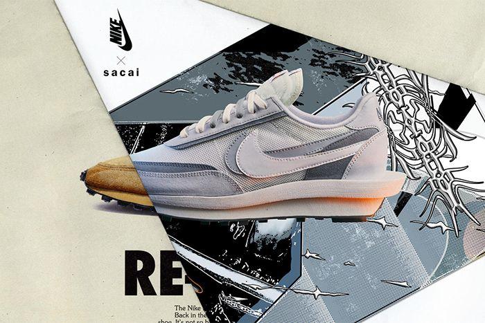 Sacai Nike Ldwaffle Official Grey Release Date Hero