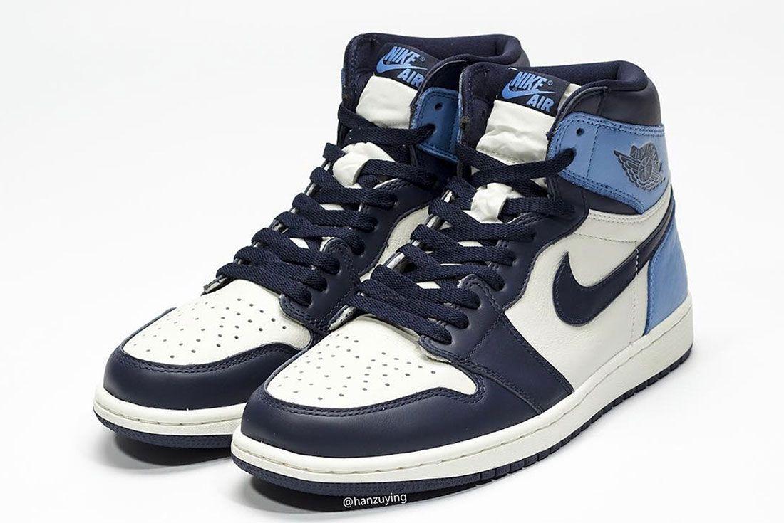 Air Jordan 1 Unc Toe