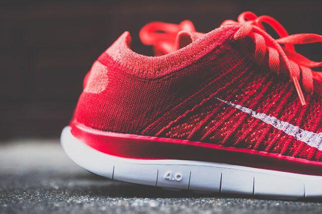 Flyknit Free 4 0 Crimson Heel