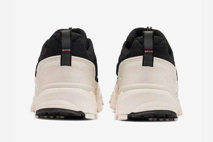 Puma Trailfox Black Off White Heel