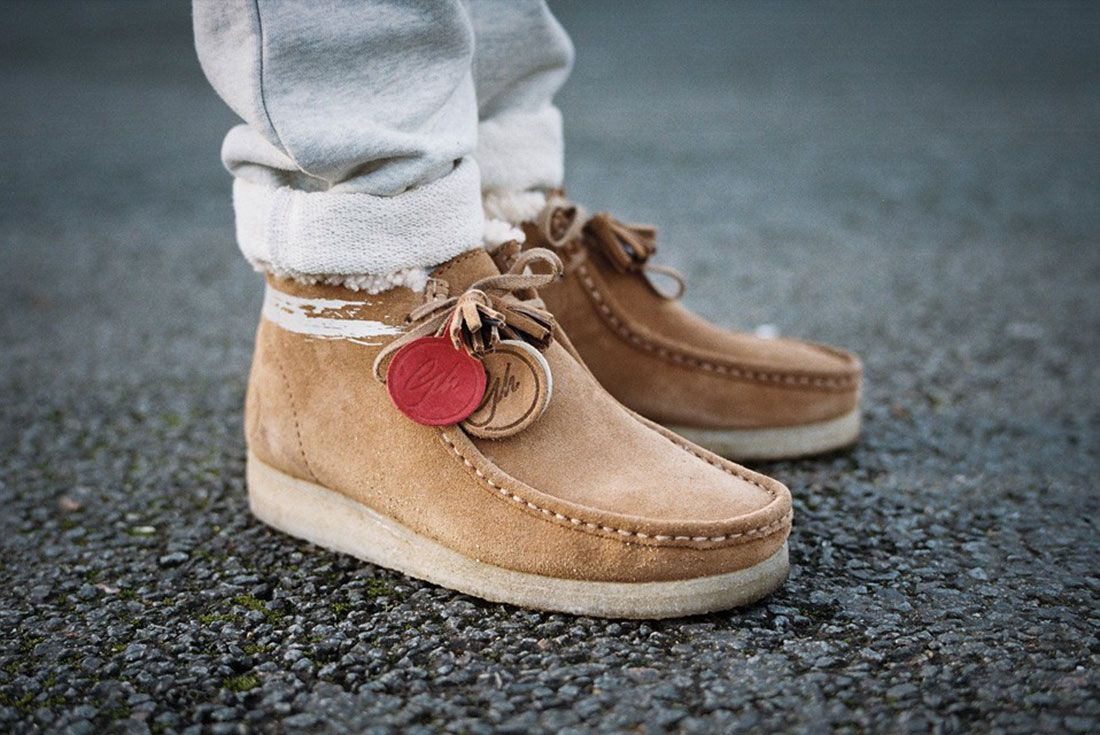 Clarks Wallabee Goodhood On Foot