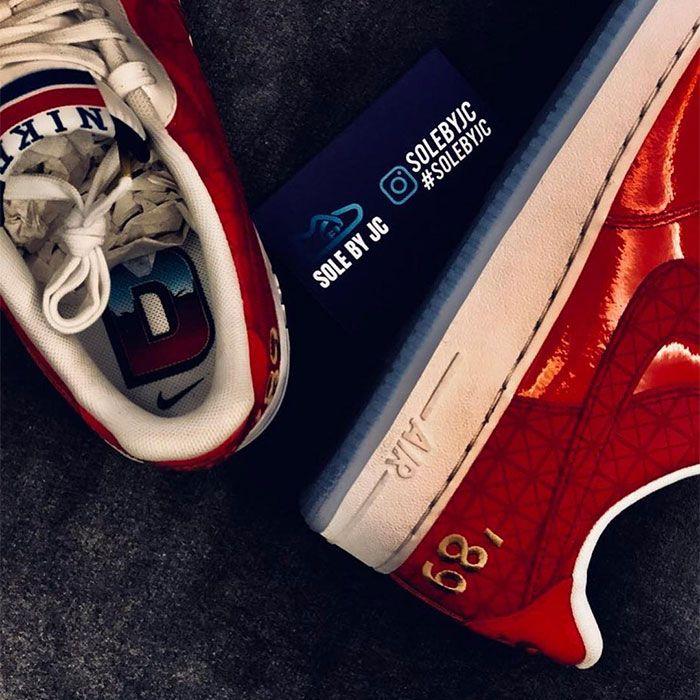 Nike Air Force 1 Pistons Heel