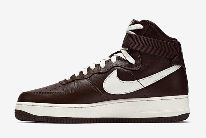 Nike Air Force 1 High Chocolate5