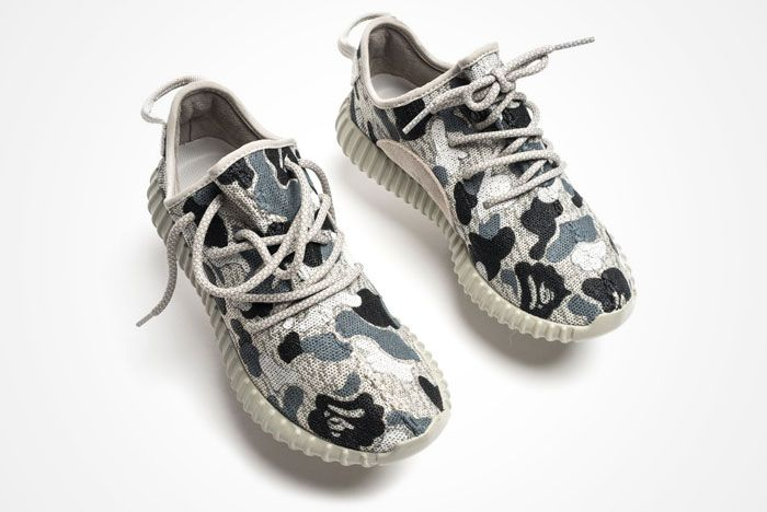 Adidas Yeezy Boost 350 Bape Camo 1