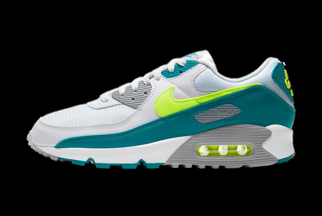 Nike Air Max 90 Spruce Lime CZ2908-100