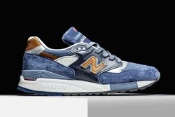 New Balance 998 Camel Blue Thumb