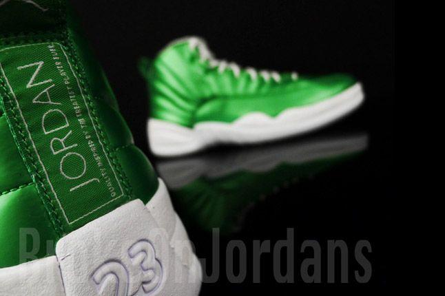Jordan 12 Metallic Green Sample 09 1