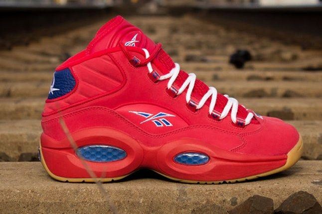 Packer Shoes Reebok Question Part 2 Red Side Profile 1