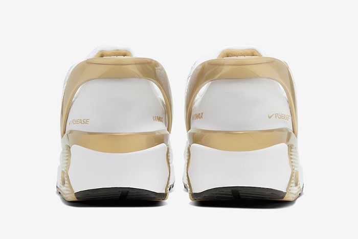 Nike Air Max 90 Flyease Gold Heel